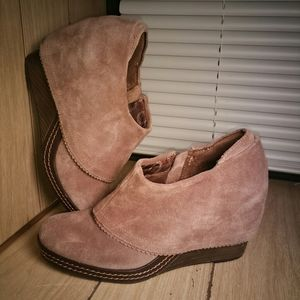 Women's Dr. Scholl's Wedge Bootie Shoes Size 9.5
